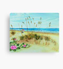 Beach art ... be5 Metal Print