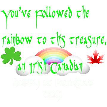 Happy St. Patrick's Day Irish Canadian by CheekyPuppy
