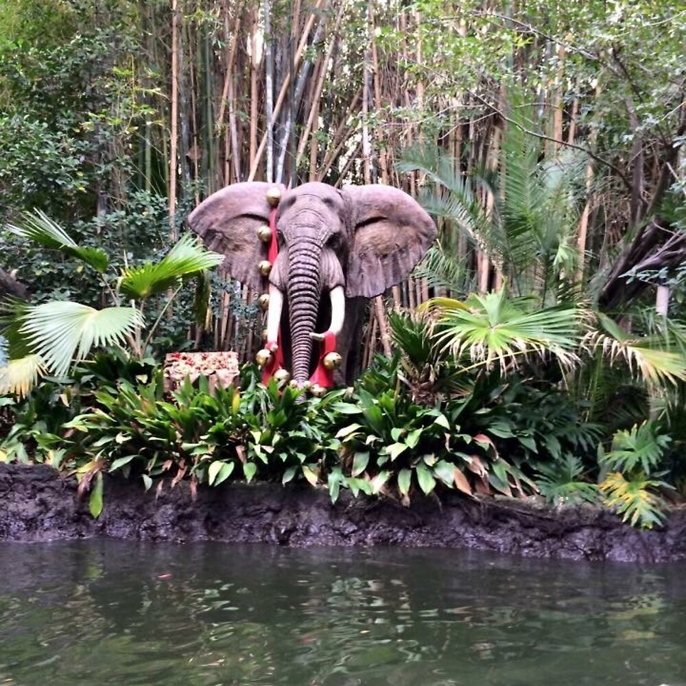 Jungle cruise elephants  by Micaelabradshaw
