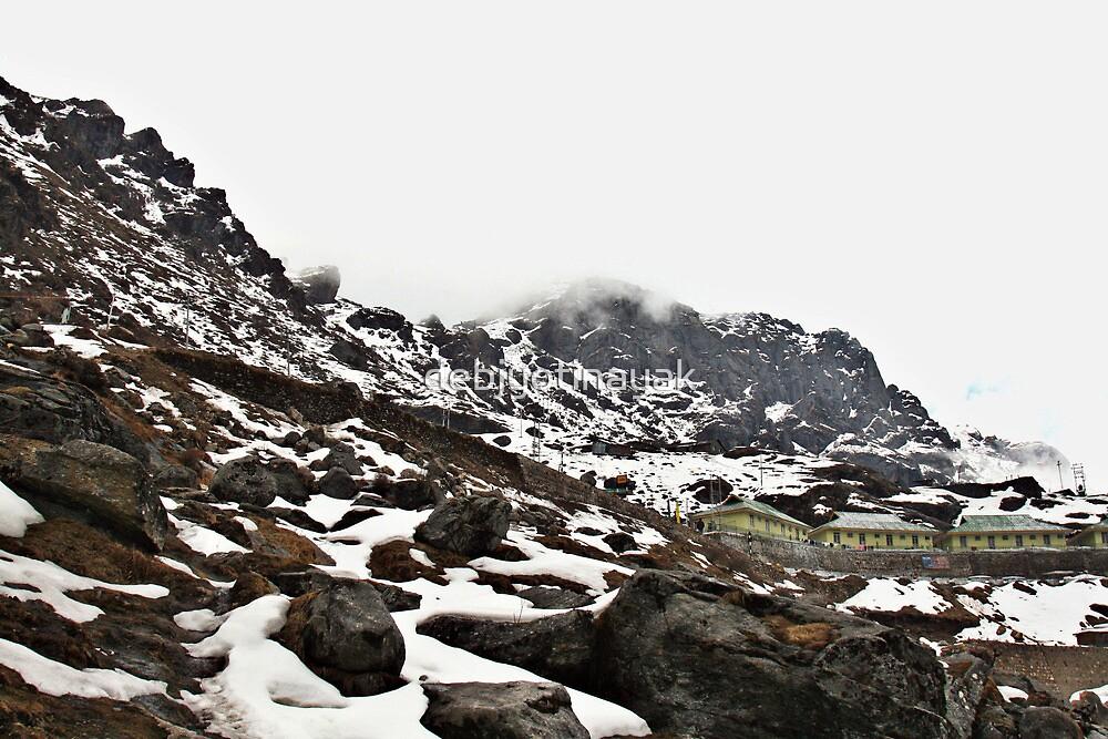 A settlement over snow. by debjyotinayak
