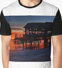 """Daybreak at Barwon Heads"" Graphic T-Shirt"