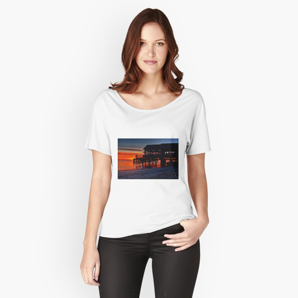 """""""Daybreak at Barwon Heads"""" Relaxed Fit T-Shirt"""