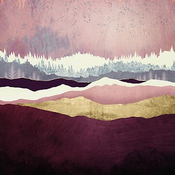 Raspberry Hills by spacefrogdesign
