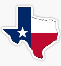 Texas Flagge Sticker