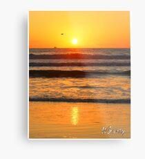 Beach art ... be8 Metal Print