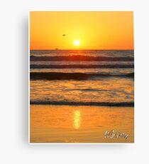 Beach art ... be8 Canvas Print