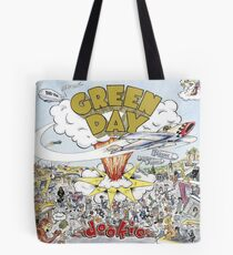 Grüner Tag Dookie Album Cover Tote Bag