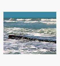 Beach art ... be10 Photographic Print