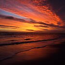 Sunset at the beach by fortheloveofit