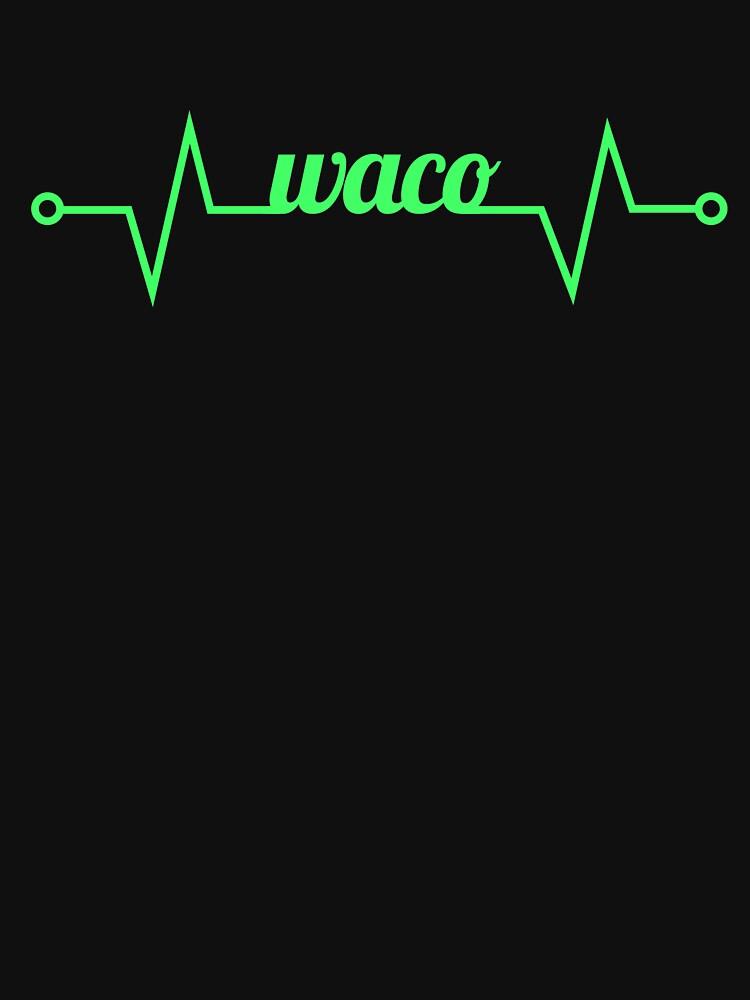 Waco TX / Texas TX Resident - Heart by EMDdesign