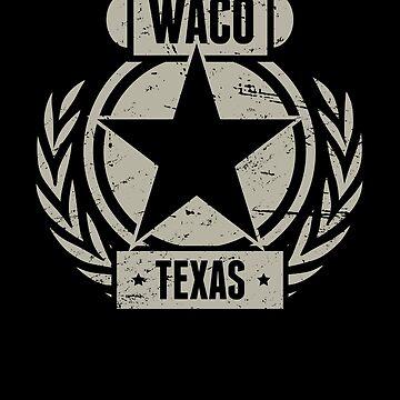 Waco Texas / Central TX Texas - Distressed by EMDdesign