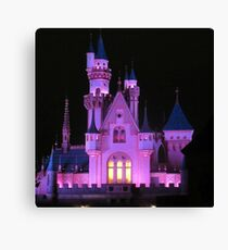 Christmas castle Canvas Print