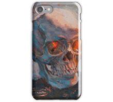 Skull Oil Painting iPhone Case/Skin