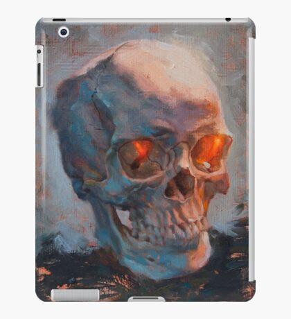 Skull Oil Painting iPad Case/Skin