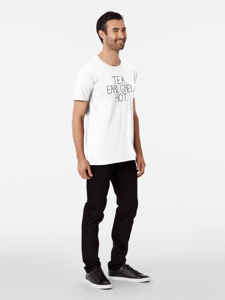 Alternative Ansicht von Tee. Earl Grey. Heiß. Premium T-Shirt