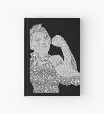 Rosie the Riveter - Black&White Hardcover Journal