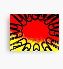 The Office Abstract ##### Canvas Print