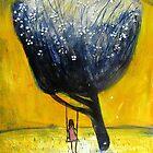 girl on a swing'... by glennbrady