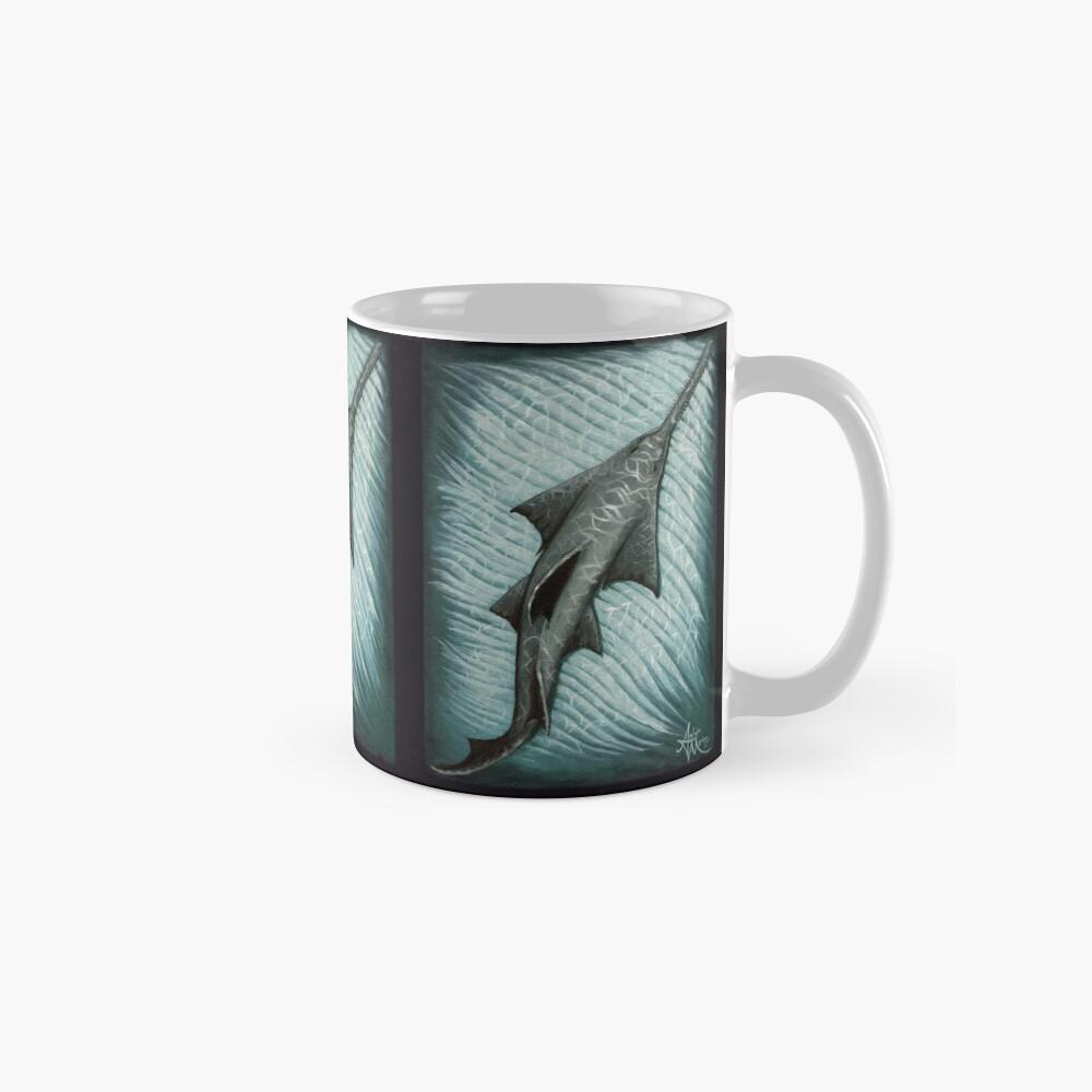 """Sawfish"" by Amber Marine ~ Acrylic painting, art © 2015 Classic Mug"