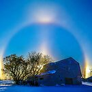 Sundogs Brandt Barn by Jerry Walter