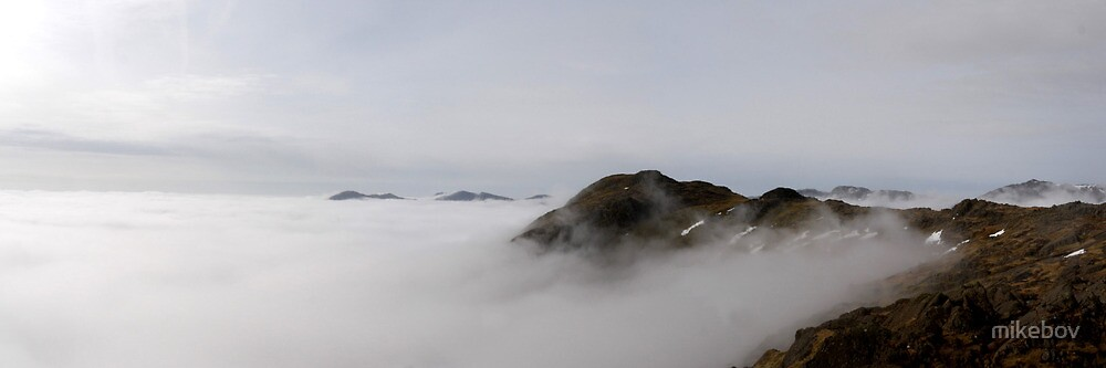Harrison above the Clouds by mikebov