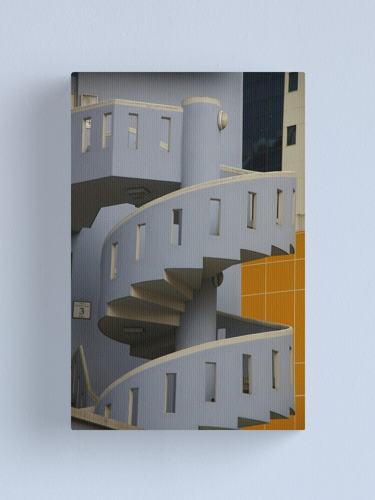 Alternate view of Step Up To The Challenge Canvas Print