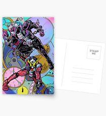 The Overlord and the Savior Postcards