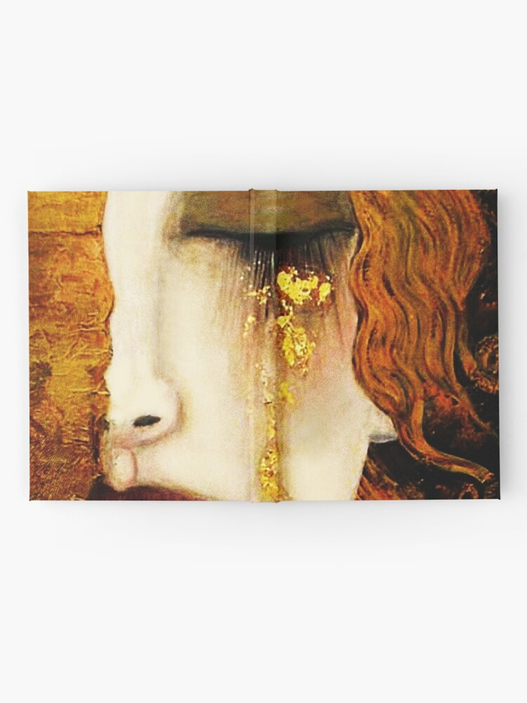 Alternate view of Klimt Golden Tears Hardcover Journal