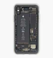 Ich telefoniere drinnen iPhone-Hülle & Cover