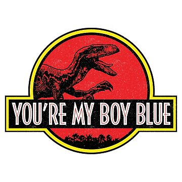 You're My Boy Blue (JP Logo) by GuyDesigns