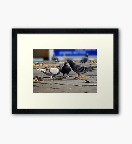 Don't tell the Others! Framed Print