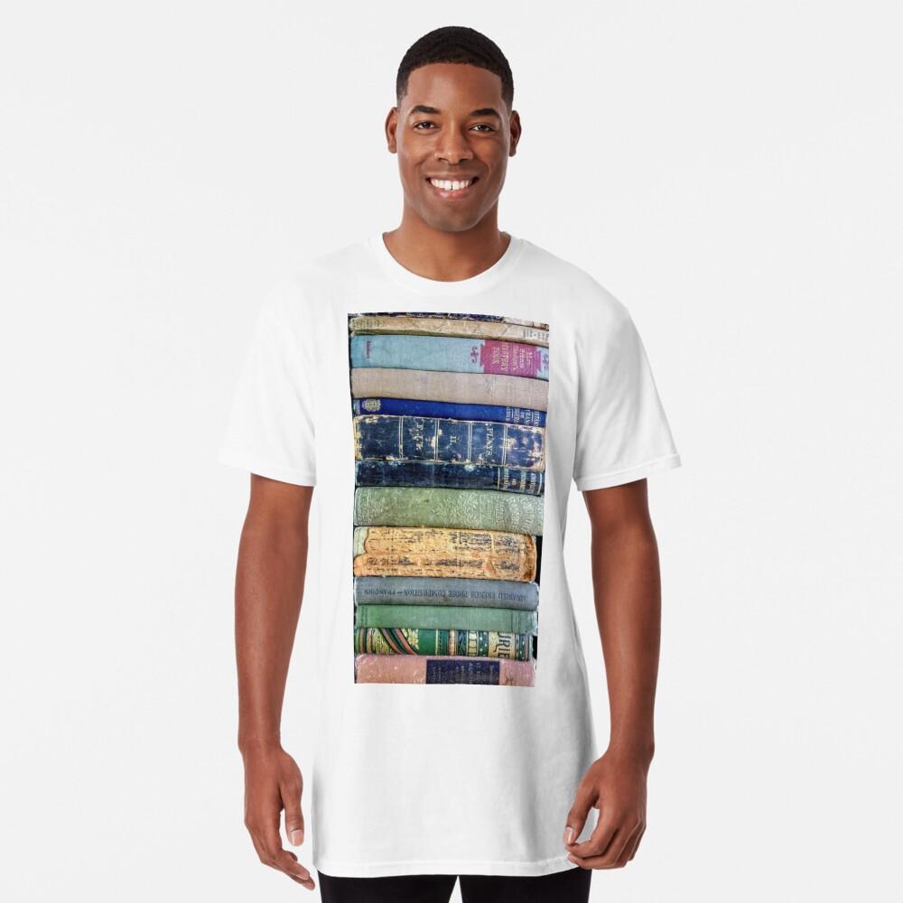 Antike Bibliothek Longshirt