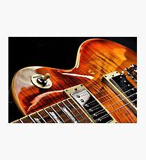 Guitar Icon : '59 Flametop Les Paul / HDR Photographic Print