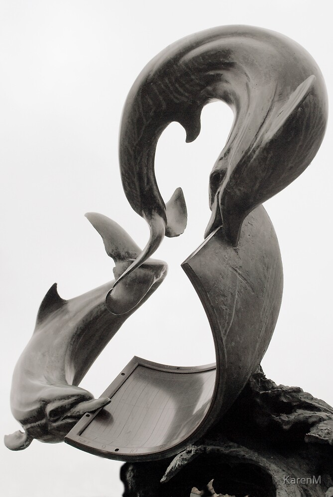 Dolphins Sundial by KarenM