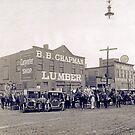 Cabinet Card: B. B. Chapman Lumber, Oxford, North Carolina c1910 by toolemera