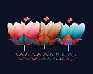 Lotus Waves by Karin Taylor