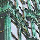 San Francisco Sentinel Building Patina by CityMystic
