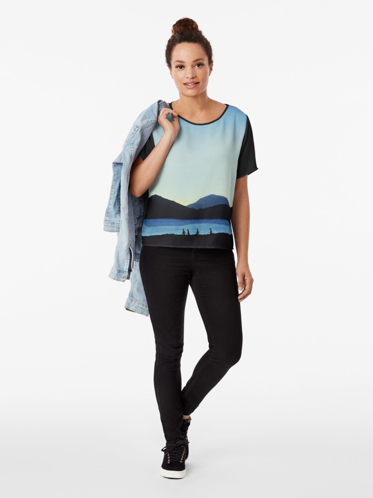 Alternate view of Stand by Me Chiffon Top