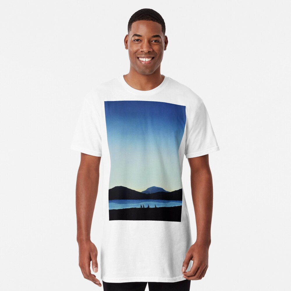 Stand by Me Long T-Shirt Front
