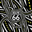 An Infinite Fractal Road on the Legendary Route 66 by Jaya Prime