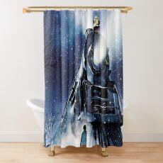 Der Polarexpress Duschvorhang