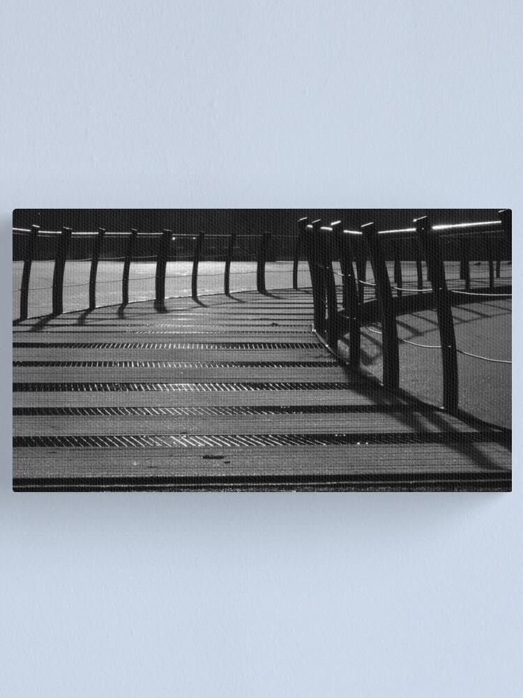 Alternate view of Floating Bridge 3 Canvas Print