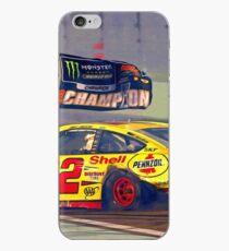 Joey Logano celebrating his 2018 Nascar Championship iPhone Case