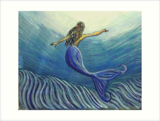 Mermaid Art ... m10 by whiteygilroy