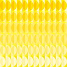 leaves in the sunlight - a pattern in yellow by VrijFormaat