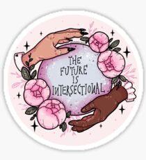 Die Zukunft ist intersektional Sticker