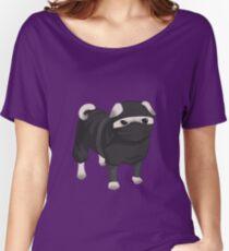 Ninja Pug Women's Relaxed Fit T-Shirt