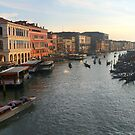 Sunset in Venice, Italy by middleofaplace