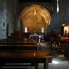 Abbey of Piona - The Nave by sstarlightss