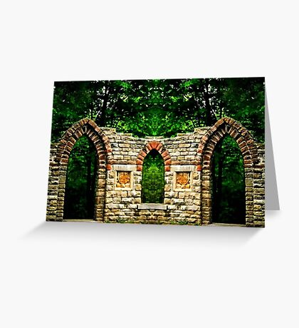 Double arches Greeting Card